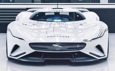 Jaguár vision GT – 1,7 másodperc alatt 100 km / h-ra