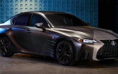 Gamereknek tervezett Lexus IS